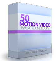 PLR Video Motion Product