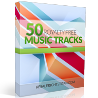 50 PLR Music Tracks