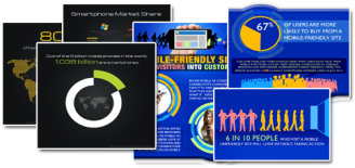 Mobile Infographics Jungle