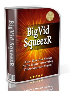 Video Squeeze Page Software