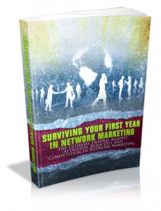 Surviving Your First Year Network Marketing